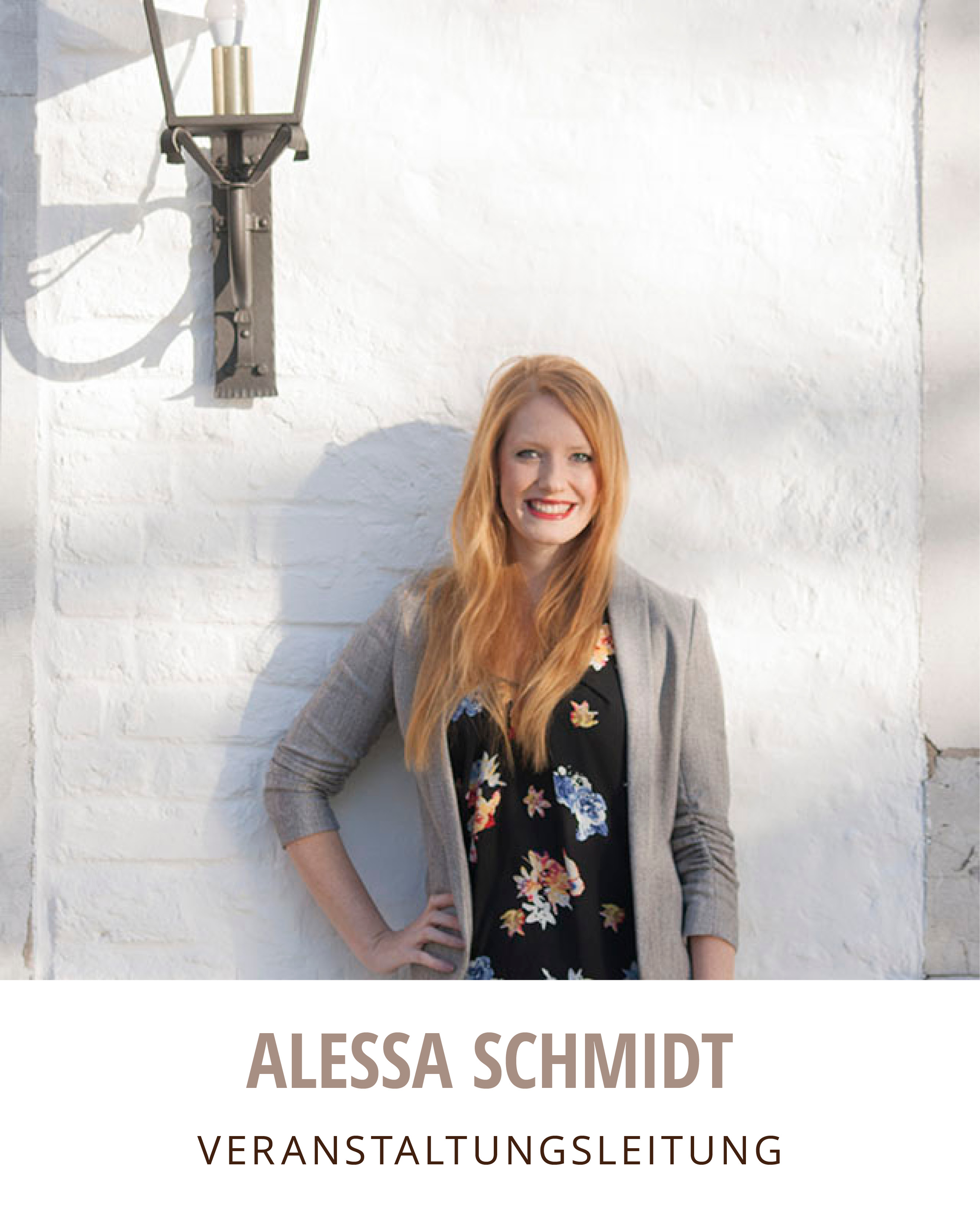 Alessa Schmidt - Projektmanagerin
